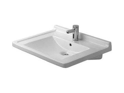 Duravit Vital Starck 3 umývadlo 70x54,5cm, s prepadom, 03097000