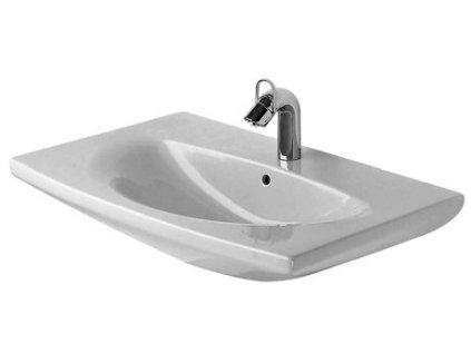 Duravit Caro umývadlo 70x50,5cm s 1 otvorom pre batériu, 04347000