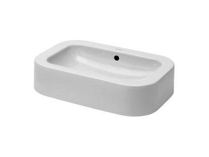 Duravit Happy D. - umývadlová misa brúsená na dosku 60x40 cm, 0458600