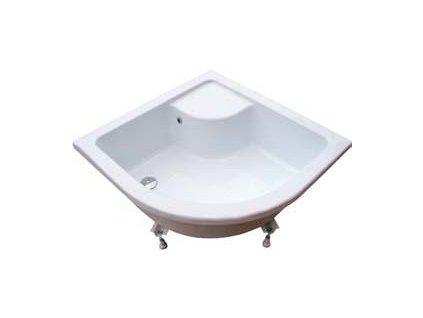 Ravak Sabina LA - sedacia vanička (mini vaňa) 90 x 90 cm + nožičky Base