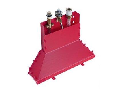 Hansgrohe Metris - základné teleso k trojotvorových batérií na okraj vane 13437180 kupelnashop.sk