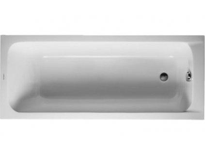 Duravit D-Code akrylátová vaňa 170x75 cm, 70010000 kupelnashop.sk