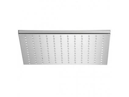 Alpi Idroterapia - kovová hranatá hlavová sprcha priemer 30x30cm SF070A