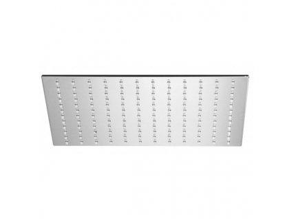 Alpi Idroterapia - kovová hranatá hlavová sprcha priemer 25x25cm SF074A