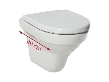 Jika Tigo wc sedátko+slowclose(spomalovací system sklápania) kupelnashop.sk