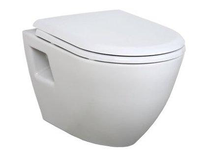 Creavit Tekko - závesné WC + bidet 2v1 - TP325