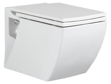 Creavit Lea - závesné WC + bidet 2v1 - TP324
