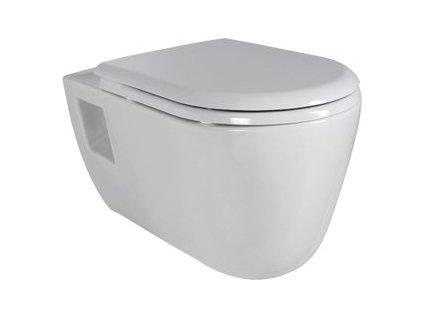 Creavit TEKKO 328 závesné WC + bidet 2v1 - TP328