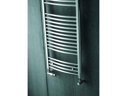 ZEHNDER AURA 595x1469 mm chróm, kúpeľňový radiátor PBTCZ-150-060