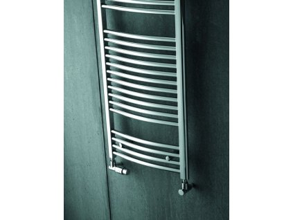 ZEHNDER AURA 595x1856 mm chróm, kúpeľňový radiátor PBTCZ-180-060