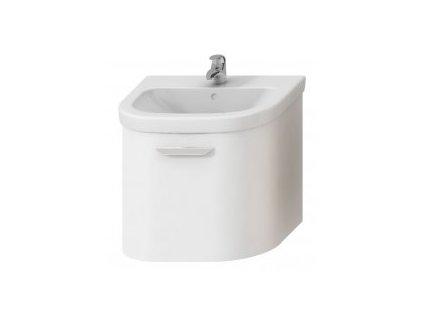 JIKA olymp deep skrinka pod umývadlo so zásuvkou oblé čelo farba biela kupelnashop.sk