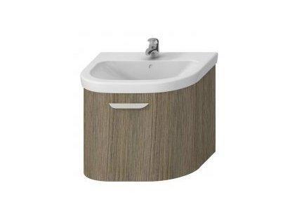 JIKA olymp deep skrinka pod umývadlo so zásuvkou oblé čelo farba zlatý dub kupelnashop.sk