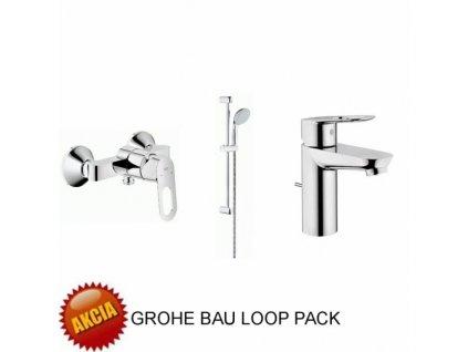 Grohe Bau Loop - set - sprchový