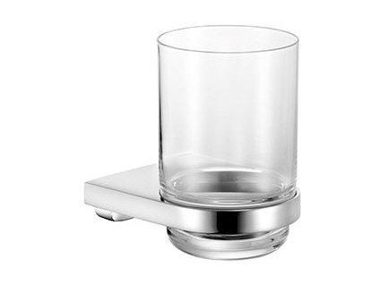 KEUCO držiak na pohár Moll 12750019000, chróm, sklenený pohár