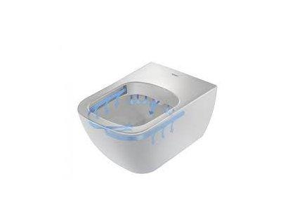 Duravit Happy D2 závesné WC so systémom Rimless 2222090000 kupelnashop.sk