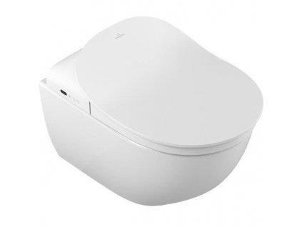 Novinka Villeroy&Boch Subway 2.0 závesne wc s úpravou C+ pre bidetové wc sedátko VICLEAN