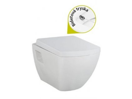 Creavit Quatro - závesné WC bidet 2v1 TP326