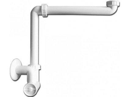 HL 137 priestorovo úsporný nábytkový umývadlový sifón