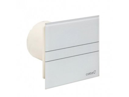 Cata E Glass 100 ventilátor s časovačom ,biely ,kód: M9942304