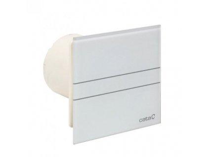 Cata E Glass 100 - biely ventilátor s časovačom M9942304