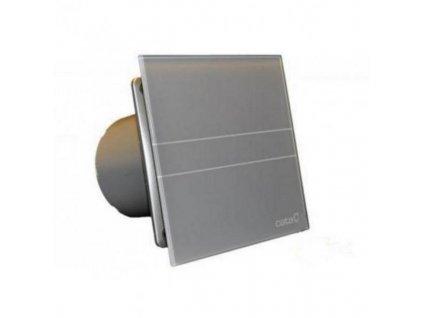 Cata E Glass 100 - strieborný ventilátor s časovačom M9946756
