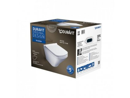 Duravit DuraStyle pack 45520900A1 závesné WC kupelnashop.sk