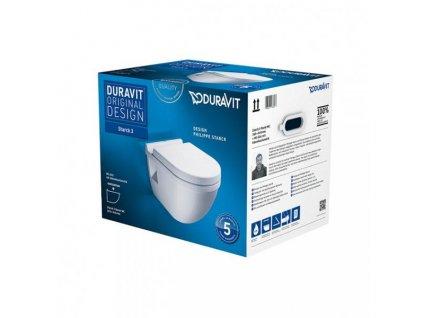 Duravit Starck 3 pack 42000900A1 závesné WC kupelnashop.sk