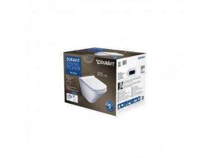 Duravit set Duravit Durastyle 45510900A1 závesné WC oplach Rimless kupelnashop.sk
