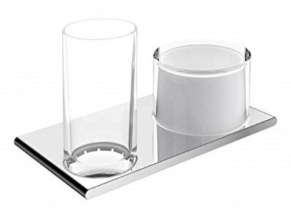 KEUCO Edition 400 držiak pre dávkovač a pohár 11553019000 kupelnashop