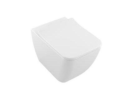 Villeroy & Boch Venticello - závesné WC + Direct Flush + spomaľovacie WC sedadlo 4611RS01