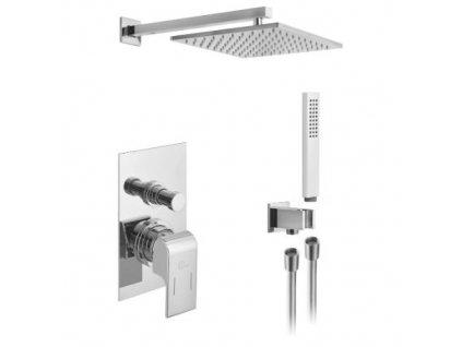 Alpi Una - sprchový systém pod omietku UNA komplet - páková batéria 45SP1863