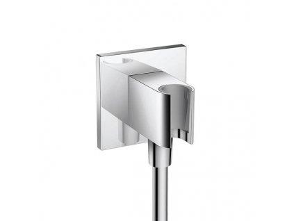Hansgrohe Fixfit - rohový držiak sprchy s prívodom vody 2v1 26486000 kupelnashop.sk