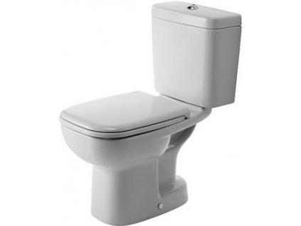 Duravit set D-Code stojaté WC spodný odpad nádržka spomaľovacie WC sedadlo kupelnashop.sk