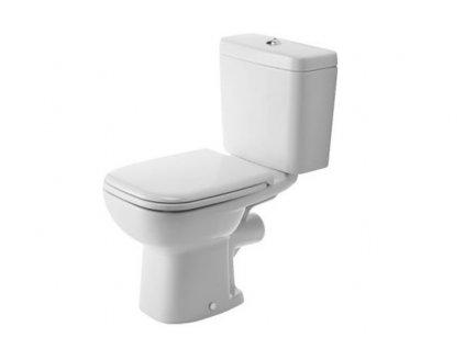 Duravit WC kombi set D-Code stojaté WC nádržka spomaľovacie WC sedadlo kupelnashop.sk