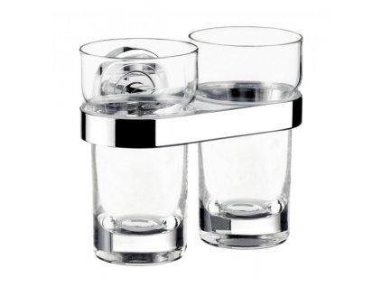 Emco Polo - dvojitý nástenný držiak pohára 072500100