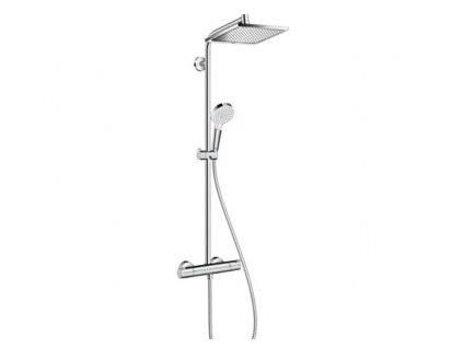 Hansgrohe Crometta E 240 1jet Showerpipe sprchový systém,chróm,27271000 kupelnashop.sk.sk kupelnashop.sk