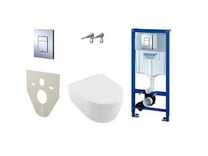 Grohe nádržka + tlačidlo + úchyty + Avento wc set + M91