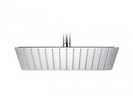 Roca RainDream Square kovová hranatá hlavová sprcha 25x25cm A5B2450C00