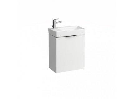Laufen Base skrinka lesklá biela pod umývadlo Laufen Pro S 48x28 cm ľavé