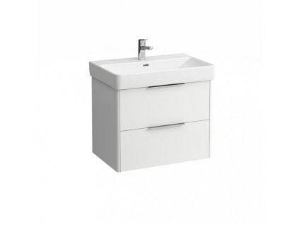 Laufen Base - skrinka lesklá biela pod umývadlo Laufen Pro s 70 x 46,5 cm