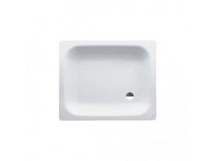 Laufen Platina oceľová sprchová vanička biela 90x75x6,5 cm