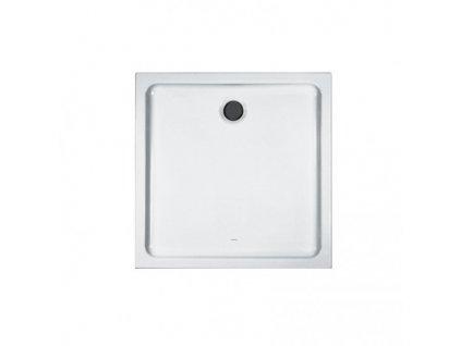 Laufen Merano keramická sprchová vanička biela 80x80x6,5 cm štvorcová