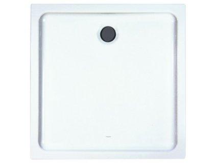 Laufen Merano keramická sprchová vanička biela 90x90x6,5 cm, štvorcová