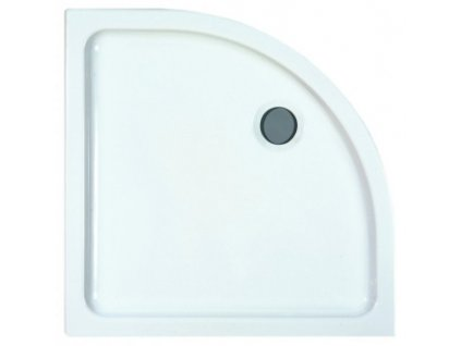 Laufen Merano keramická sprchová vanička biela 90x90x6,5 cm štrvťkruhová