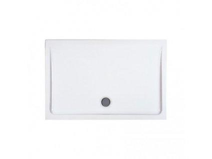 Laufen Merano keramická sprchová vanička biela 80x120x6,5 cm obdĺžniková