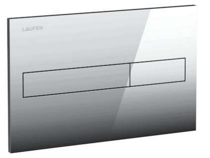 Laufen splachovacie tlačidlo AW1, Dual Flush 8956610040001 lesklý chróm