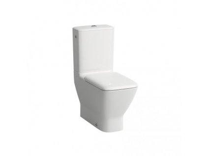 Laufen Palace - stojaca kombinačná WC misa + nádržka + spomaľovacie sedadlo s poklopom
