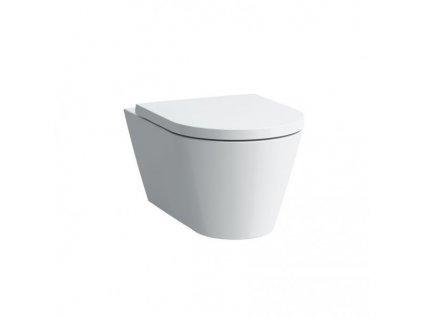 Laufen Kartell -  závesné WC 37 x 54,5 cm hlboké splachovanie 8203310000001