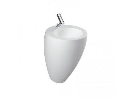 Laufen Ilbagnoalessi one - umývadlo 52 x 53 cm s otvorom pre batériu uprostred 8119714001041