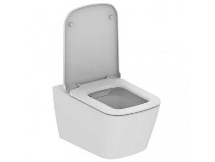 Akciový set Ideal Standard Mia Rimless závesné wc + Mia spomaľovacie wc sedátko ultra ploché